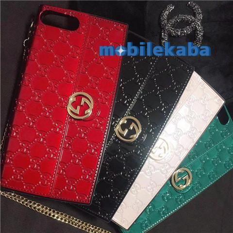 buy popular 8ae12 457f9 バッグ型グッチiPhoneX/8Plusブランドケース人気セレブ押し柄 ...