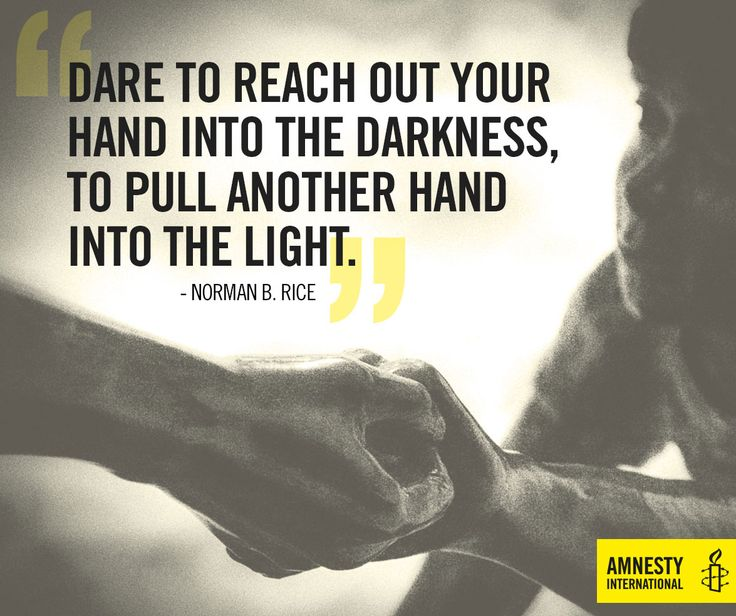Reach out and get involved with Amnesty today #MotivationalMonday >> http://amn.st/6497BdVIZ