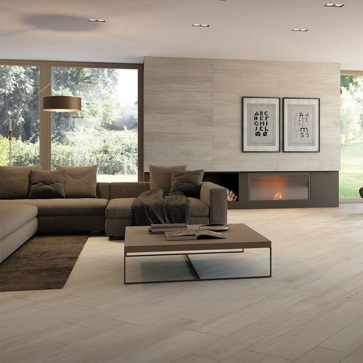 Imitation Wood Floor Tile 20x100 Natural Taupe Charm Monocibec Collection Floor Design Home Home Decor Styles