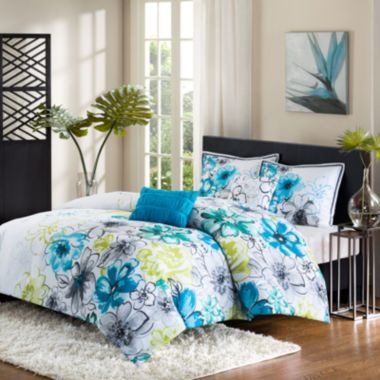 Intelligent Design Olivia Floral Comforter Set Found At