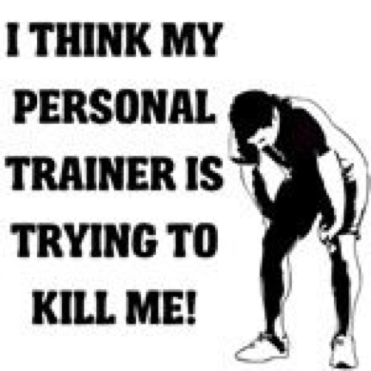 Personal Trainer Quotes Funny: 17 Best Images About Funny Fitness Quotes On Pinterest