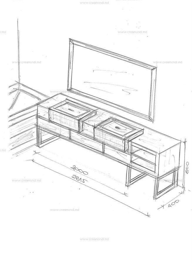 Мебель для ванной комнаты.