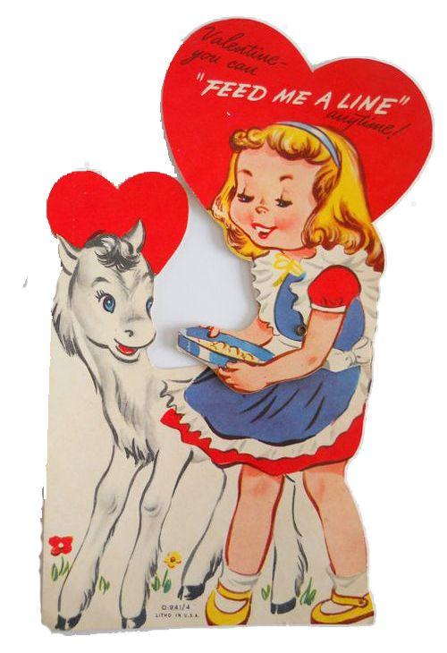 85 best Vintage Valentine Horses images – Horse Valentines Day Cards