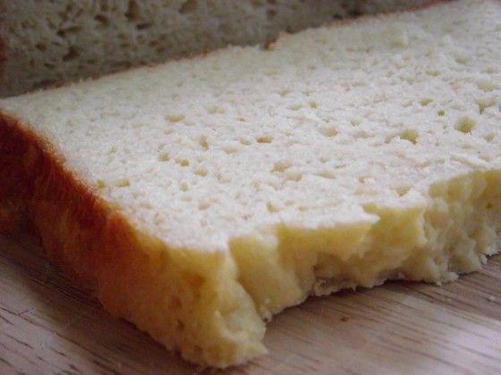 Buttermilk Bread--gluten free!  This is a basic bread recipe designed for the bread machine.  Soft, moist, delicious!