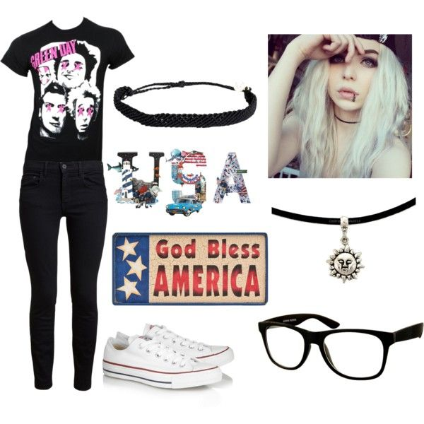 """""""America Idiot"""" by ms-maria1d on Polyvore"""