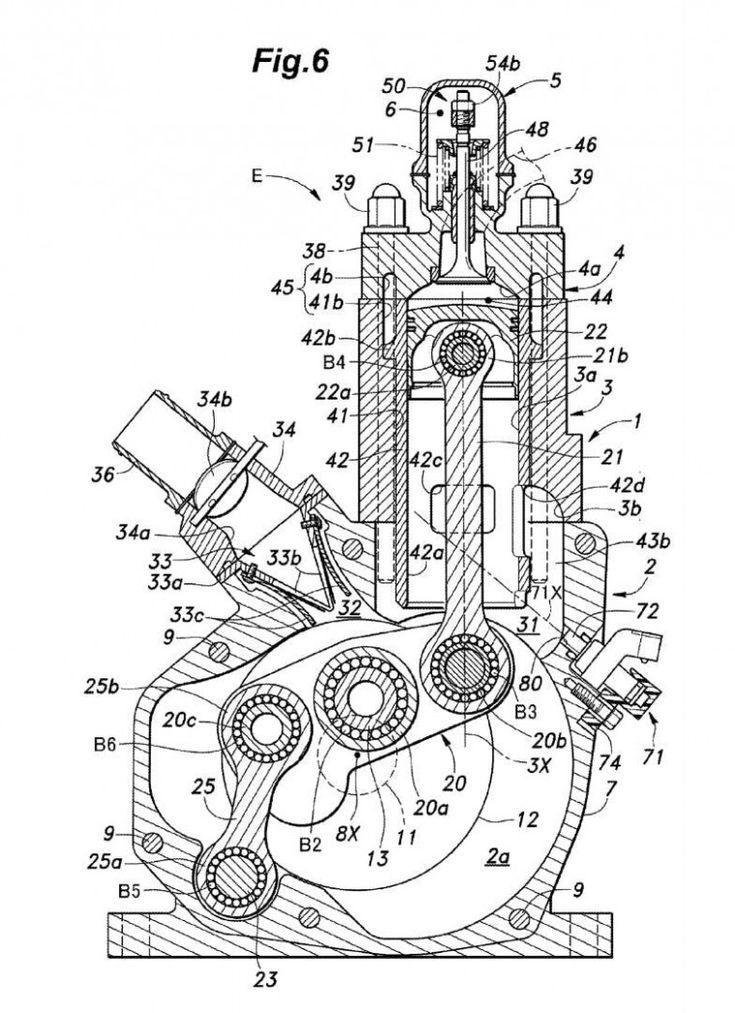 Two Stroke Engine Diagram Honda Two Stroke Engine Diagram