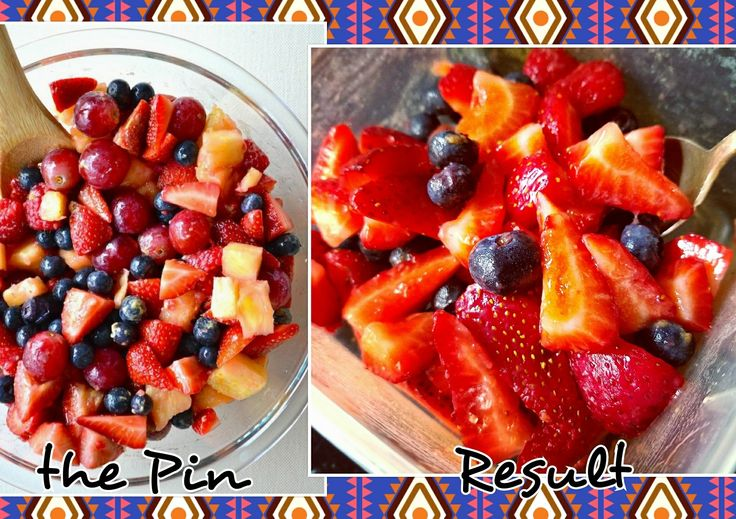 Secret fruit salad...Only good if eaten immediately. The flavor was so subtle I ended up adding a lot more of the mix. I used strawberries & blueberries only.