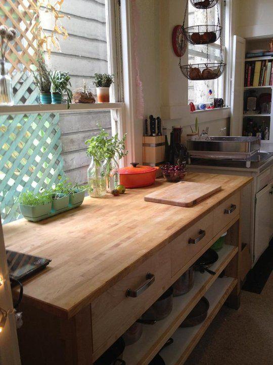 Renu0027s Loved U0026 Improved Rental Kitchen   Ikea VÄRDE