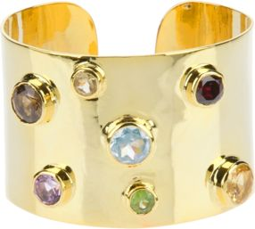 SOPHIE BY SOPHIE multi stone cuff www.stockholmmarket.com