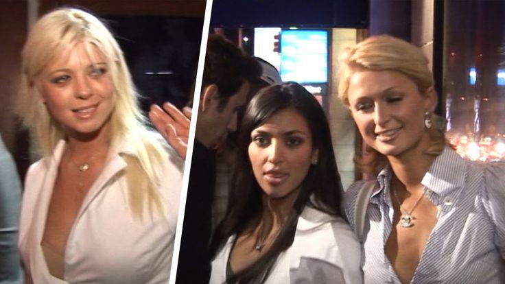 Kim Kardshian & Paris Hilton -- One of the 1st TMZ Videos!! (TMZ TV)