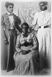 3 Black Mormon Women circa 1900