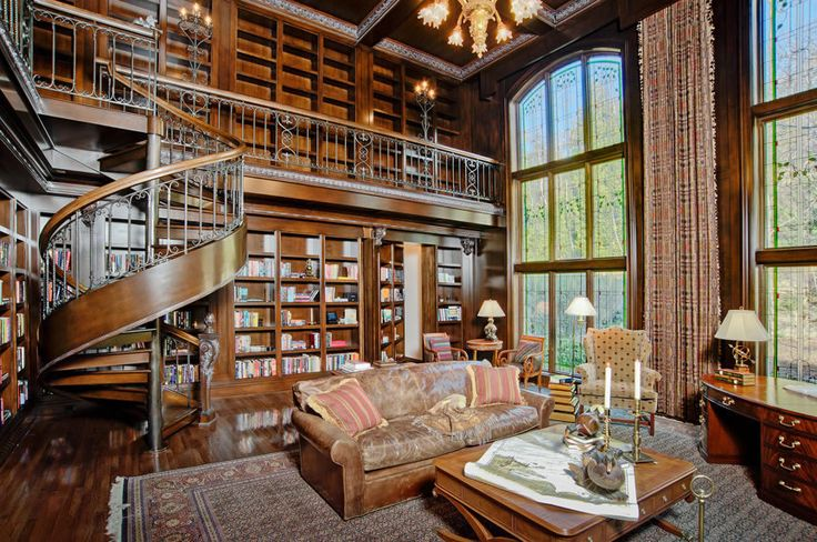 Traditional Home Library These 40 Home Libraries Will Have You Feeling Just Like Belle