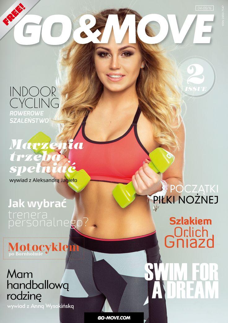 Drugi numer bezpłatnego magazynu online GO&MOVE dla osób prowadzących zdrowy i aktywny tryb życia.