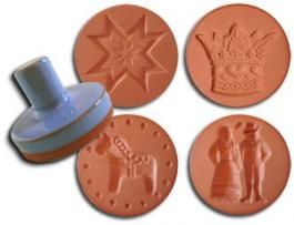 Scandinavian Folk Cookie Stamps - purchase at Ingebretsens Scandanavian shop
