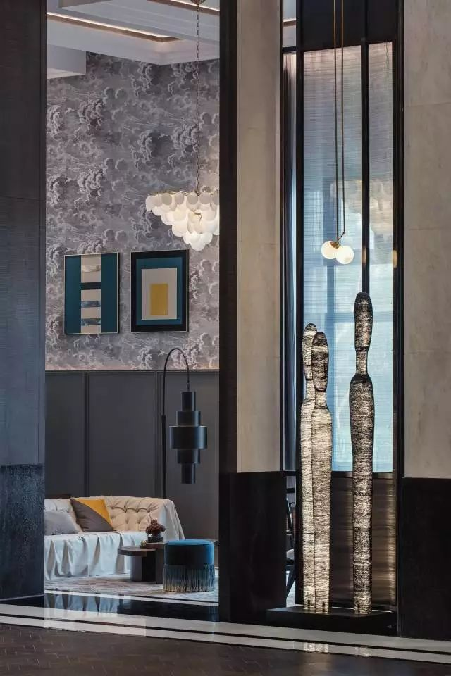 Geothermal Estate Artwork by Source Interior Brand Architecture.