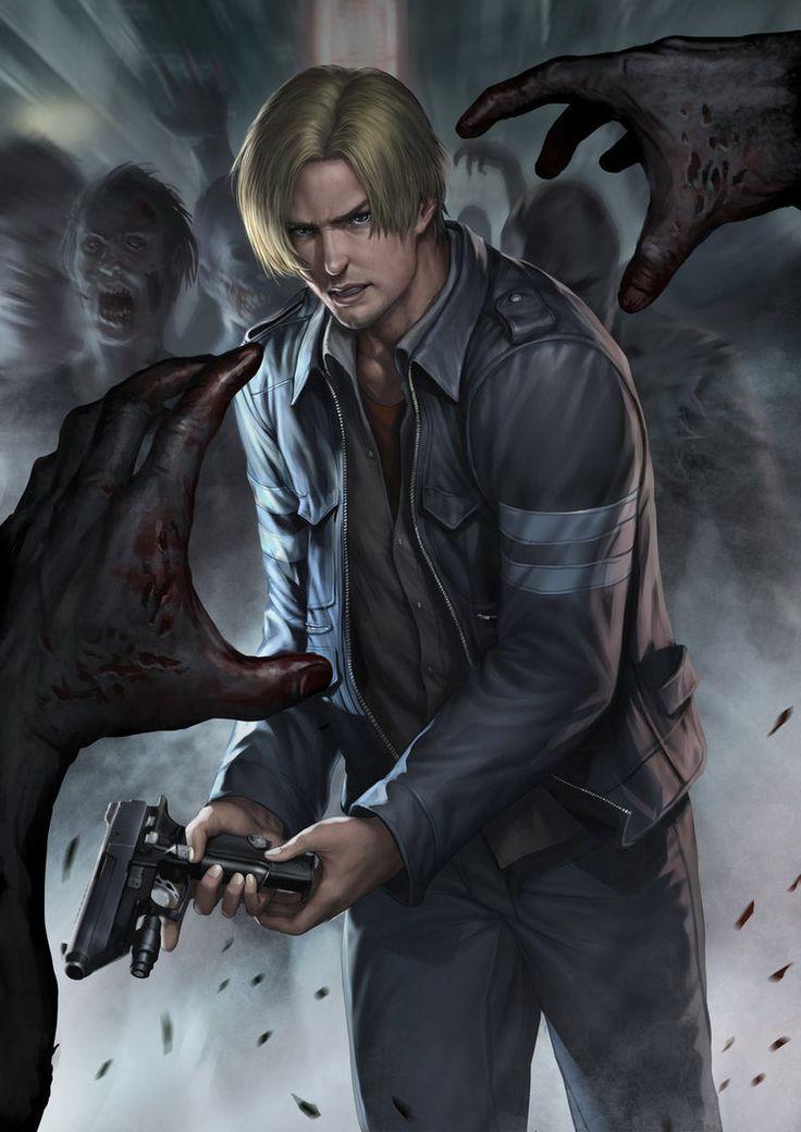 Resident evil 6 Leon by *chrisnfy85 on deviantART