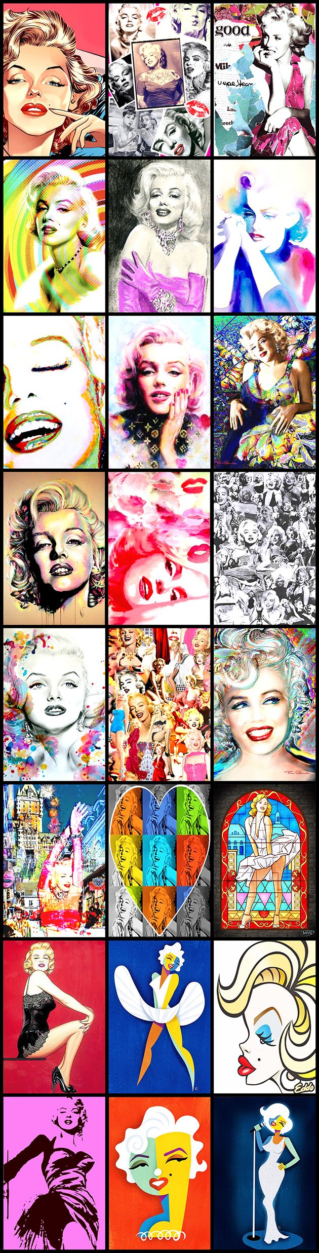 View Marilyn Monroe @ our Pinterest Gallery