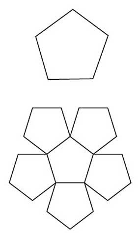 hexagon templates for quilting free - free english paper piecing pentagon bowl pattern diy