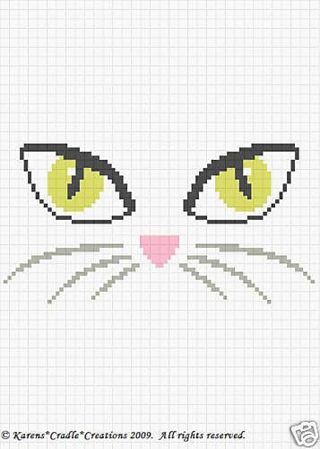 That I created. This graph pattern will make a beautiful heirloom afghan done in single crochet, the afghan or Tunisian crochet stitch, knit, or counted cross stitch onto the background. Original graph pattern artwork © Karens Cradle Creations, 2009.   eBay!