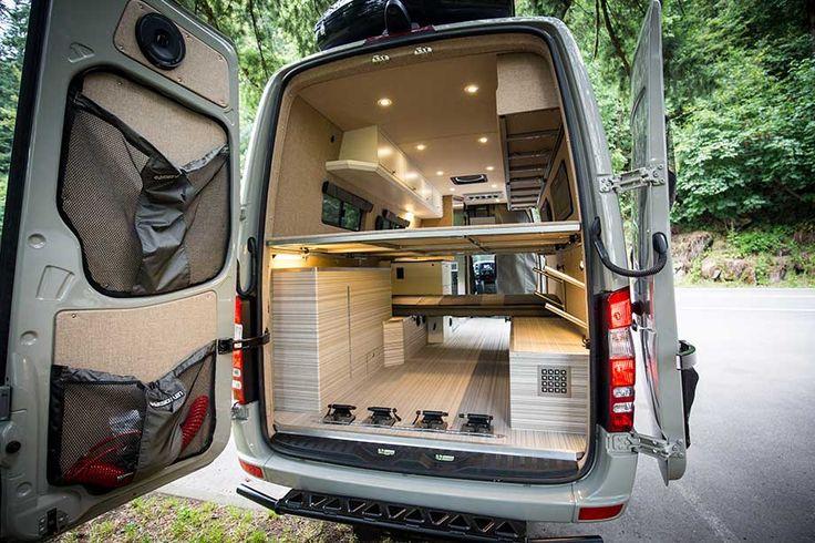 Minivans For Sale >> Bespoke camping van brings luxury to the outdoors ...