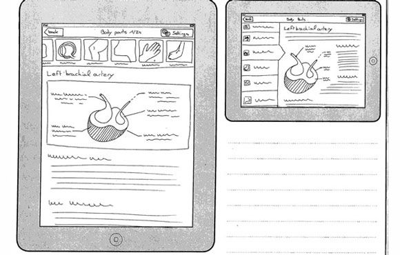 First Sketches Medical App
