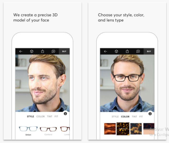Topology Eyewear te permite probarte gafas a través de realidad aumentada : Applicantes – Información sobre apps y juegos para móviles