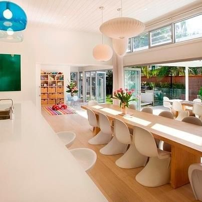 We always love a beach house.  This one is designed by Sanctum Design and is in Manly, Sydney.