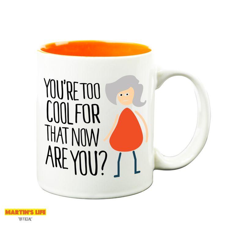 Jays Them Dwarfs Are Comical (Mug and Tin) | Martin's Life Mugs from HairyBaby.com