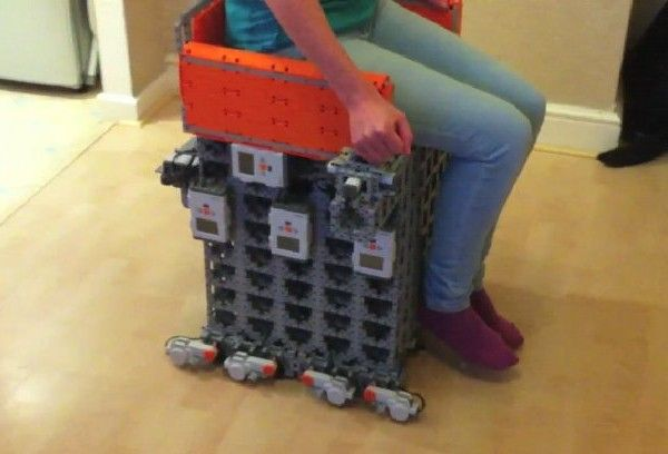 Slow But Steady: This LEGO Motorized Wheelchair Actually Works!