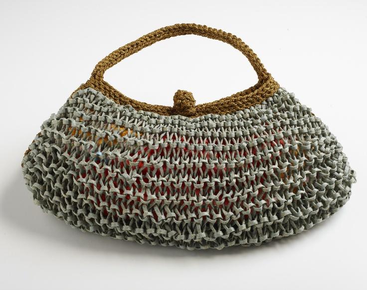 The new Luxury Ixia handmade rope hand bag.