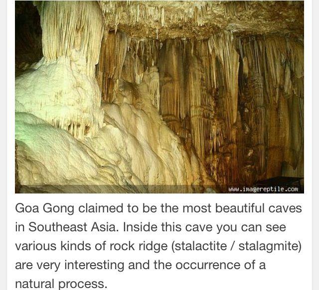 Goa Gong-East Java Indonesia.