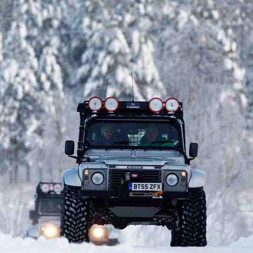 Good photo! Land Rover Defender Blog