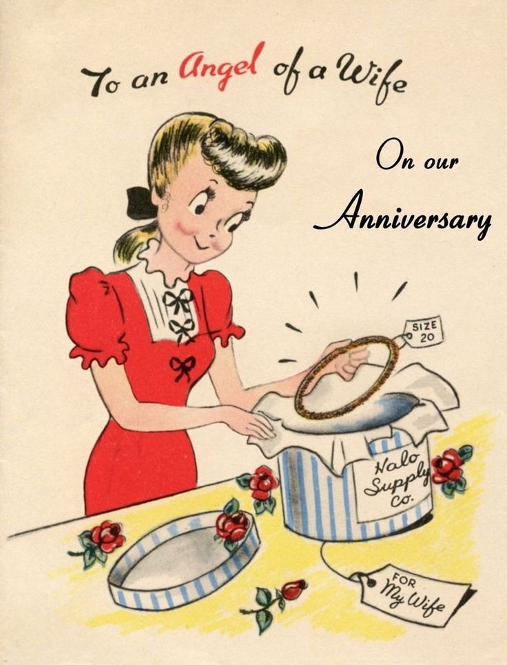 "Antique / Vintage inspired handmade Anniversary card for Wife Large 5x7"" #dandij #Anniversary"