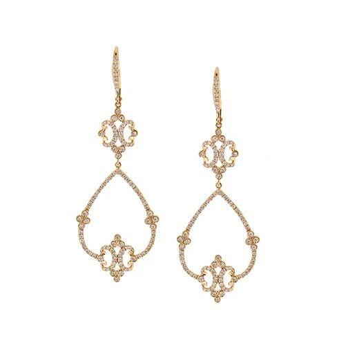 19 best Fine Earrings images on Pinterest | Diamond chandelier ...