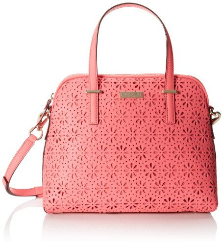 kate spade new york Cedar Street Perforated Maise Cross Body Bag,Surprise Coral,One Size kate spade new york