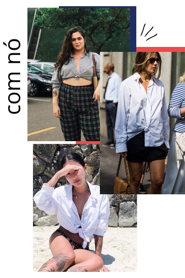 5306ba078 Lua Souza, Luciane Sakon - camisa com nó - camisa com nó - verão - how to