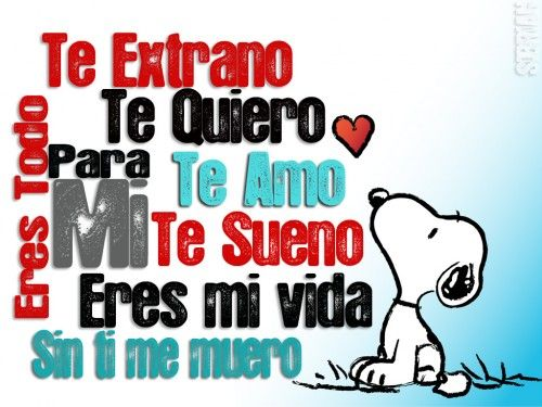 Snoopy Frases - Snoopy pharses on Pinterest | Snoopy, Amor and Frases