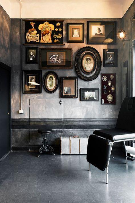 Die besten 25+ Tattoostudio Innenraum Ideen auf Pinterest Tattoo - einzimmerwohnung einrichten interieur gothic kultur