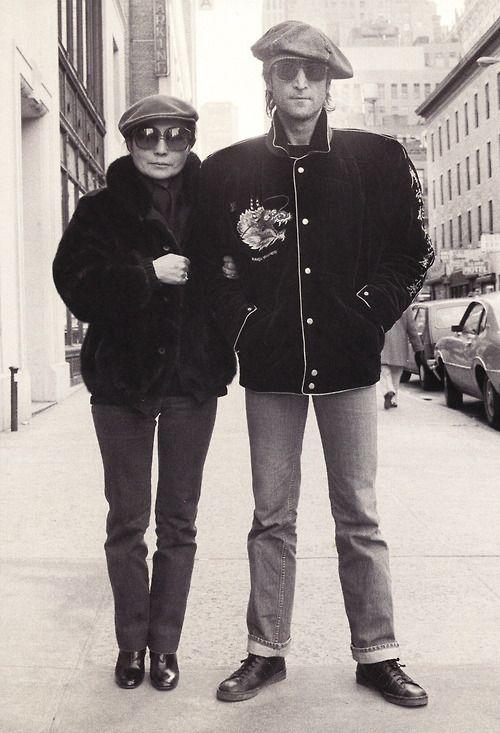 John and Yoko NYC December 5 1980