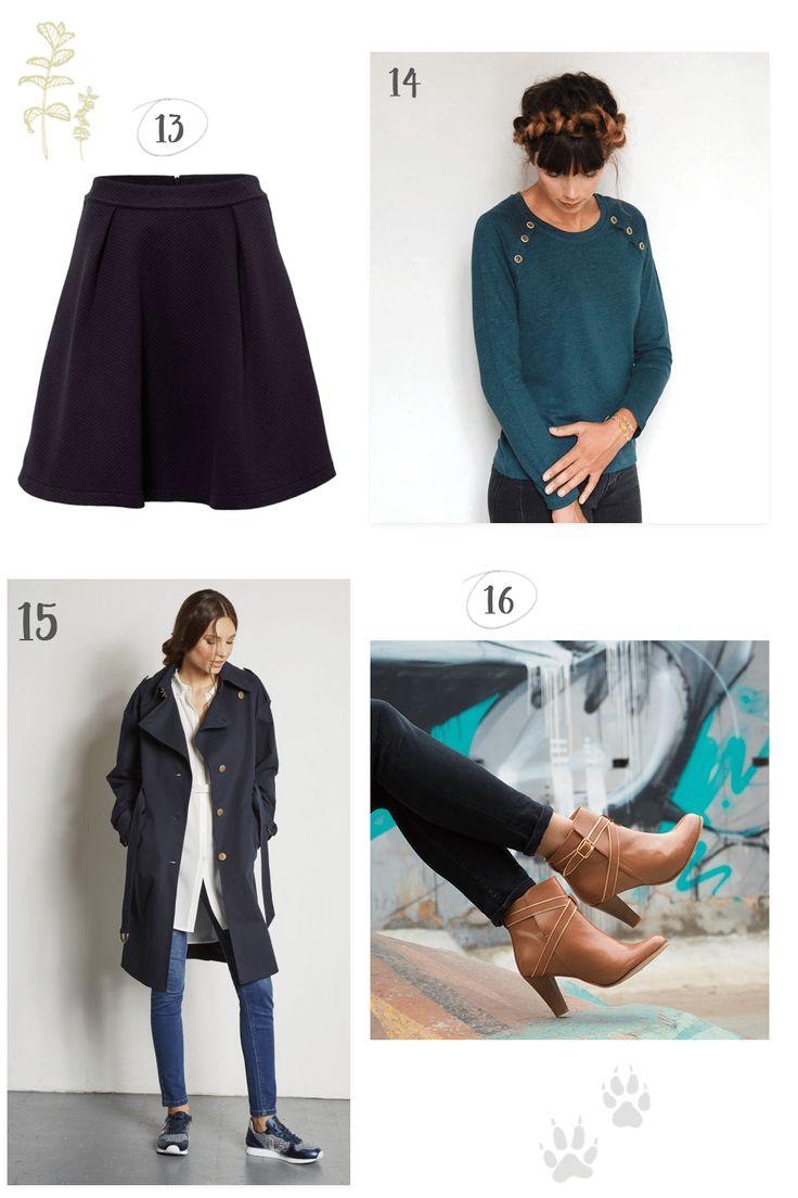 Sélection shopping #8 : 4 tenues d'automne