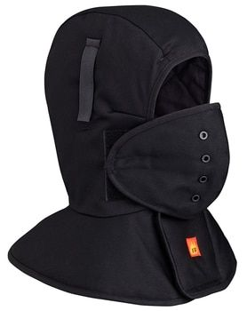 565A Flame Resistant Quilted Long Neck Hard Hat Liner | Safetywear.ca
