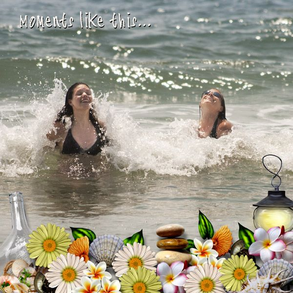 Moments Like This...by Tbear. Kit used: A Quiet Beach http://scrapbird.com/designers-c-73/k-m-c-73_516/myst-designs-c-73_516_557/a-quiet-beach-p-16551.html