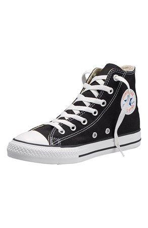 Cool Converse Sko All star Hi Sort Converse Sko til Børn & teenager i behagelige materialer