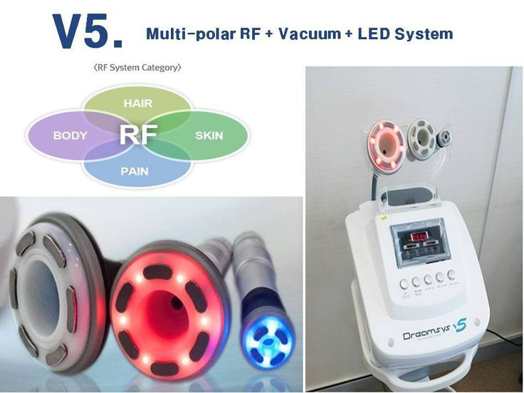 LED Vacuum Bipolar Weight Loss Slimming Multi RF Radio Frequency Skin care GPKJ #GPKJ
