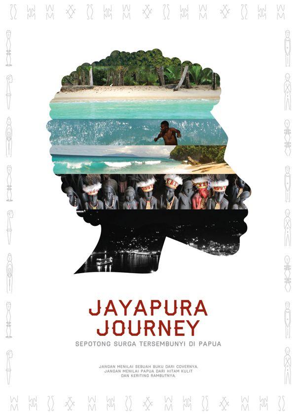 Jayapura Journey : Hidden Piece of Paradise in Papua by Marcellina Giovanni, via Behance