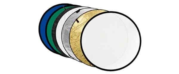 Collapsible Reflector Disc - 7 in 1 - 80cm