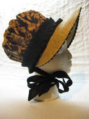 The Merry Dressmaker: A Regency Bonnet Tutorial