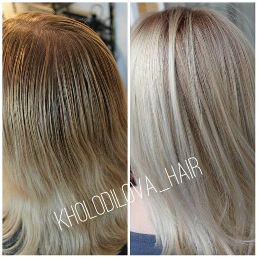 #mywork #balayage #haircolor #beforeandafter #blond #blondhair #beauty #hair