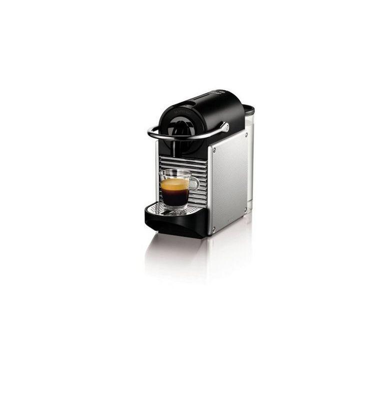 Cafetière à capsules DeLonghi EN-125S Pixie Nespresso 0,7 L 19 bar 1260W Argenté - 97,38 €Si vous recherchez des électroménagers pour votre maison aux meilleurs prix, ne manquez pas Cafetière à capsules De'Longhi EN-125S Pixie Nespresso 0,7 L 19 bar 1260W Argenté et une large...