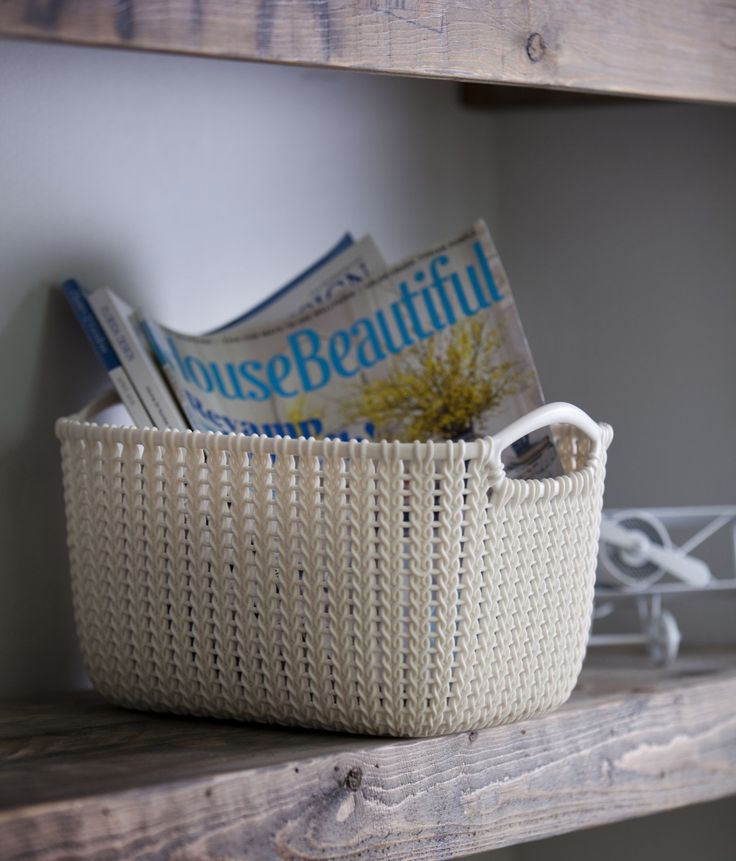 Coming soon to SA - Curver's KNIT range of Homeware - 0861 866 766 for stockists & pricing in South Africa